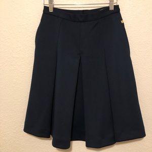Ivan la Trump Navy Blue Scuba Skirt
